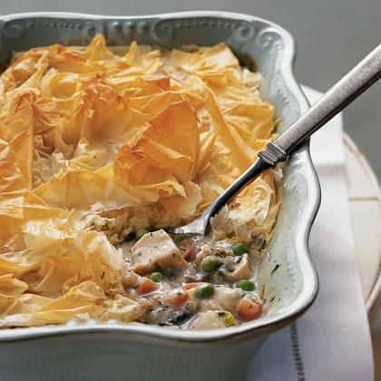 Easier and Lighter Chicken Pot Pie |
